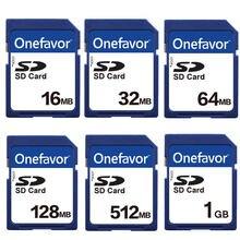 Onefavor 16 Мб 32 64 128 МБ 256 512 1 Гб 2 sd безопасная цифровая