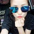 Marca de moda de Estilo Espejo de Ojo de Gato gafas de Sol de Las Mujeres de La Vendimia Del Verano Gafas de sol Gafas De Sol Feminino Gafas de Sol UV400 gafas