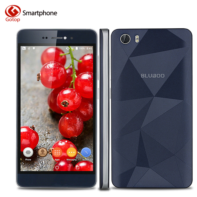 Bluboo Picasso 5.0 Inch HD Screen Smartphone Android 5.1 MTK6580 Quad Core Cell Phone 2GB RAM 16GB ROM 2500mAh Mobile Phone
