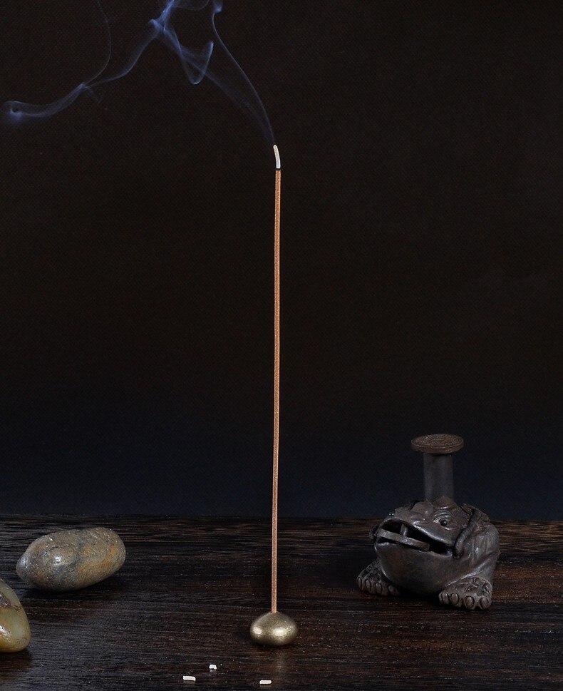 Golden Color Brass Incense Stick Holder