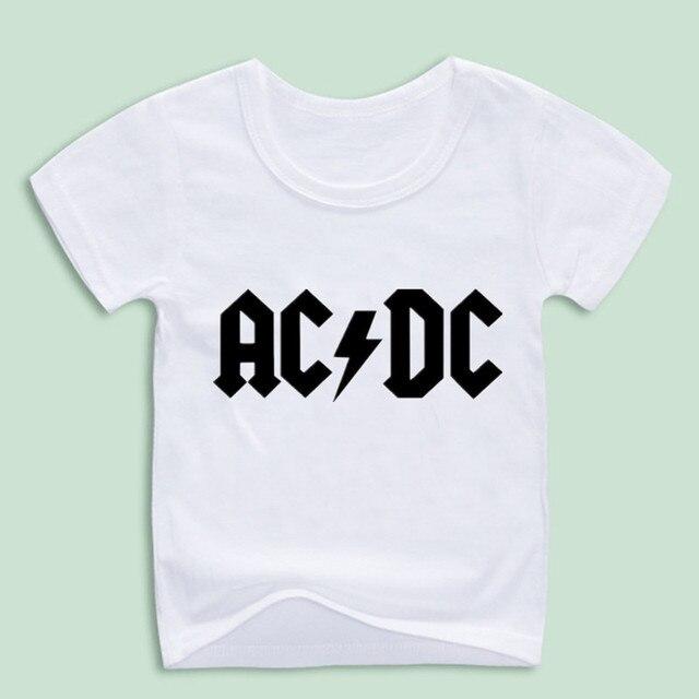 Acdc Kinderen T Camisetas Band Rock Shirt Nieuwe Jongen K1TcFJ3l