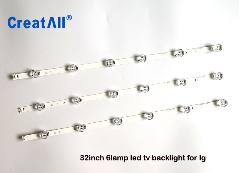 Have An Inquiring Mind 3pcs X 32inch Led Backlight Strip For Lgit A B Lg Innotek Drt 3.0 32a B Woree Tv 32mb25v 6916l-1974a 1975a 2223a Industrial Computer & Accessories