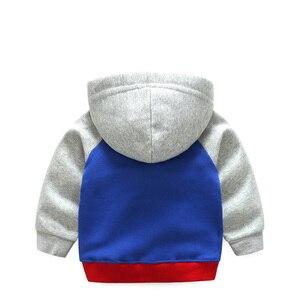 Image 4 - เด็กเสื้อ2018ฤดูใบไม้ผลิฤดูใบไม้ร่วงหญิงShieldเสื้อผ้าผ้าฝ้ายHooded Sweatshirtเสื้อCasual Zipper Hoodiesเด็กOuterwear
