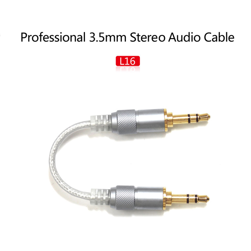 Fiio L16 - Professional 3.5mm Stereo Audio Cable for XI II / X5 II / Q1 II laete l16 143 1