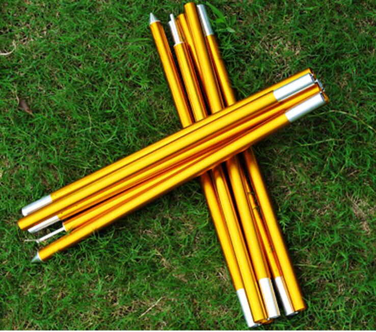ФОТО (2pcs/pair) 19mm 7075 Alloy  2m/2.4m Outdoor Awning Poles Canopy Rod Sun Shelter Tent Pole