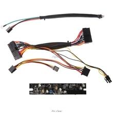 DC 12 В 120 Вт мини Pico PSU 24Pin ITX DC в ATX PC модуль питания с кабелем