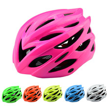 7 Color 240g Solid Matte Black Bicycle Helmets Men Women Safety Helmet Mountain Road Bike Integrally Molded Cycling Helmets