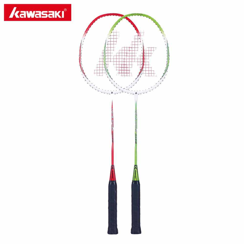 Kawasaki Badminton Racket 1U Aluminum Alloy Frame Badminton Racquette Racquet With String For Outdoor Entertainment UP-0158