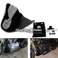 Fairing Front Spoiler Air Dam For Harley 883 1200 XL Sportster Gloss Black
