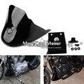 Spoiler Dianteiro carenagem Represa de Ar Para Harley XL 883 1200 Sportster Preto Brilhante