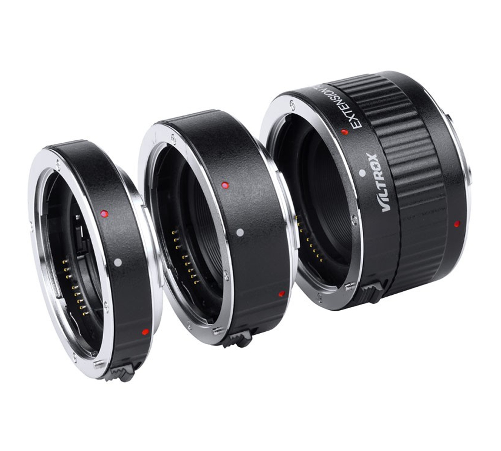 Adaptateur d'objectif Viltrox DG-C Tube d'extension Macro monture métal Auto Focus objectif Macro adaptateur d'objectif de prise de vue Macro pour Canon EOS 750D - 2