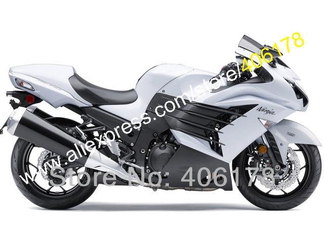 Us 41705 5 Offhot Salescustomized Fairing For Kawasaki Ninja Zx14r 12 15 Zzr1400 2012 2015 White Black Abs Fairing Kit Injection Molding In