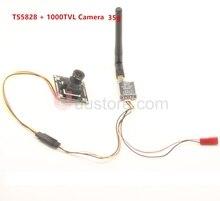 900TVL Micro Camera w 3 6mm wide angle lens T5828 5 8G 48Ch 600mW FPV AV