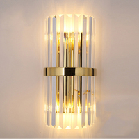 crystal french gold wall lamp luxury pearl black silver kids wall lights unique pretty metal wall light sconces 2pcs/pack