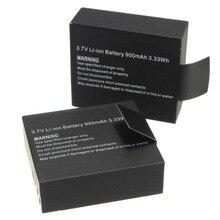 Лидер продаж 2 шт. 900 мАч Спорт Камера литий-ионный Батарея для SJCAM SJ4000 SJ5000 SJ6000 SJ7000 Спорт DV мини Камера Батарея Batteria