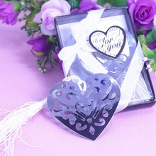 10PCS Personalised Heart Bookmark