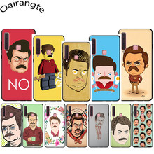 Ron Swanson Soft Phone Cover Case for Samsung Galaxy A3 A5 A6 A7 A8 A9 A10 A30 A40 A50 A70 J6(China)