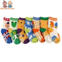 10pair/lot Wholesale Free Shipping 0-3years Anti Slip Baby Socks Boys and Girls Socks Toddler's Socks Baby Wear