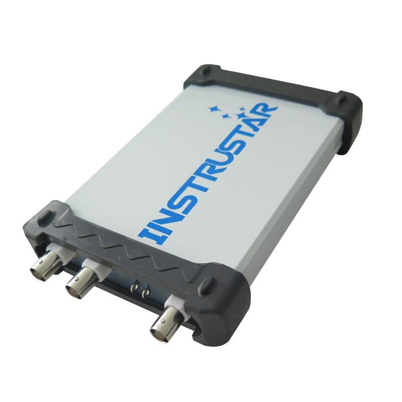 5pcs lot ISDS205B 5 IN 1 Multifunctional PC Based USB Digital Oscilloscop Spectrum Analyzer DDS Sweep