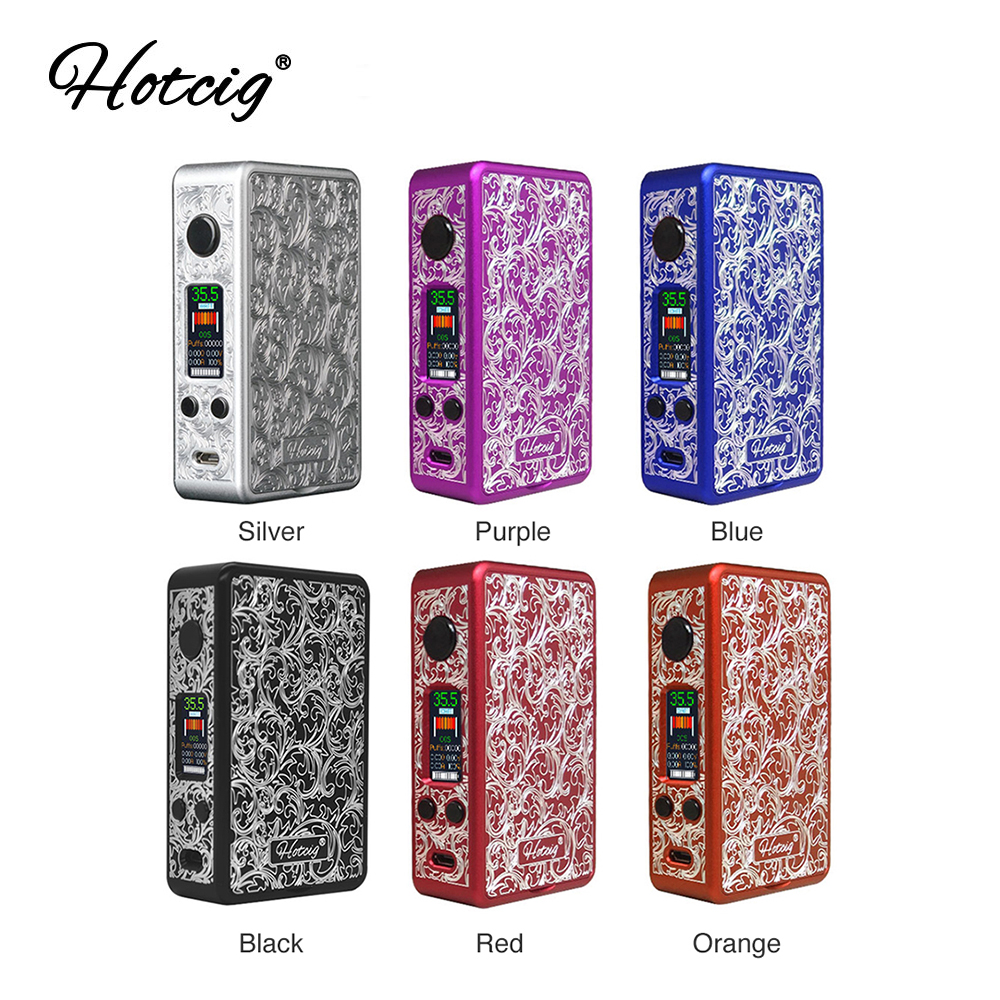 New Original Hotcig R150S TC Box MOD with 150W max output Innovative Waterproof HM Chip E