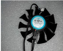 Оригинальный HD5830 5850HD6850 VAPOR-X 6870 токсичных сапфир вентилятор видеокарты