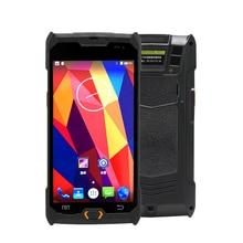 цена 5 inch industrial handheld PDA Android 7.0 barcode scanner 1D Laser 2D PDF417 bar code reader smartphone for Logistics Courier онлайн в 2017 году