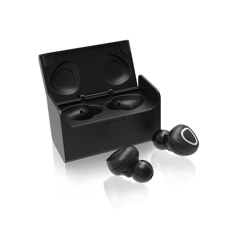GLAMSHINE Twins True Wireless Earbuds Mini Bluetooth In-Ear Stereo TWS Small Invisible Wireless Earphones With Charging Case newest twins wireless 3d stereo earbuds small invisible mini bluetooth earphones headset with charger box for all phones
