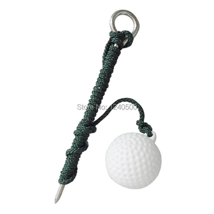 Free Shipping Golf Ball Golf Driving Ball Swing Hit Practice Training Aid Golf Practice Ball