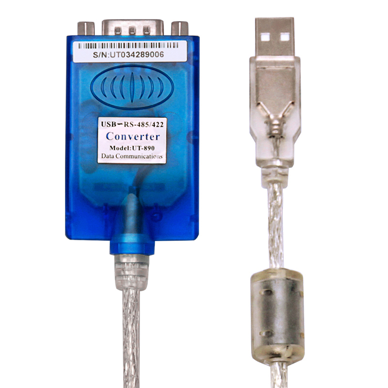 USB to 485/422 converter RS485 to USB industrial serial communication converter RS485/422 converter industrial grade photoelectric isolation rs232 to rs485 422 two way active converter lightning protection against surge