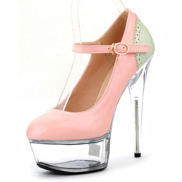 Women Platform Pumps Fashion Peep Toe  Shoes Super High Heels Sandals Ladies Party Wedding Stage Shoes women luxury shoes platform pumps bridal wedding lolita shoes black red beige bottom peep toe high heels fetish shoes size 4 16