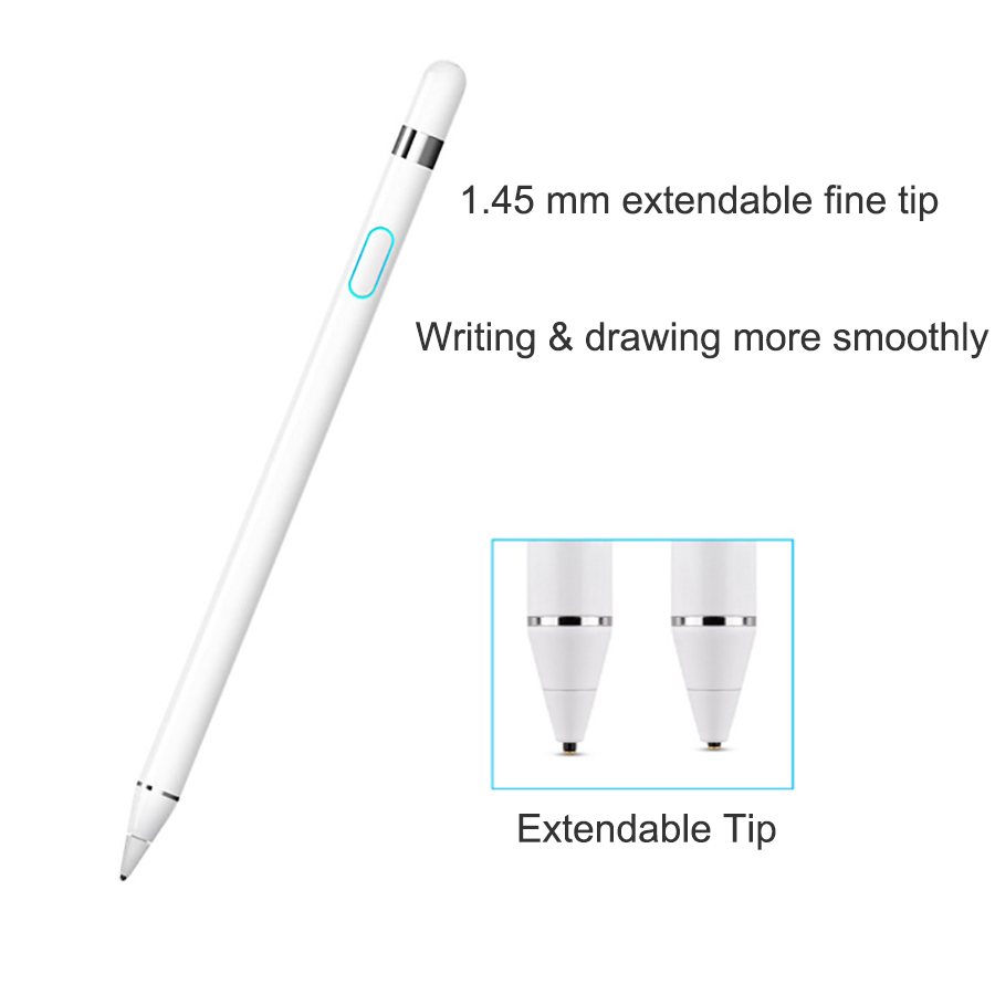 WIWU Tablet Pen For Apple Pencil Rechargeable Stylus Pen For IPad Pro Compatible With IOS/Android Stylus Pen For Samsung Tablet