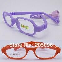 Les ventes au détail 3813900 kid environnement TR90 sécurité pliable progresive montures de lunettes avec sangle réglable livraison gratuite