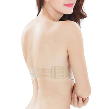 Sexy Lingerie clear back Brassiere Half Cup Bra Women Seamless Invisible Bras Sutian Female Underwear Strapless Push Up Bra G