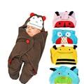 78X78cm Baby stroller baby blankets baby sleeping bag cartoon sleeping bag Towel lovely animal 4 colors