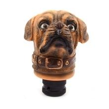 Универсальная личностная Собачья голова в форме сдвижной головки для автомобиля грузовика Автоматическая Ручная ручка переключения Ручка Переключения смолы