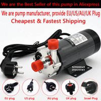 HomeBrew Pump MP 15R Food Grade 304 Stainless Steel Brewing Home brew 220V Magnetic Water Pump Temperature 140C 1/2 BSP/NPT