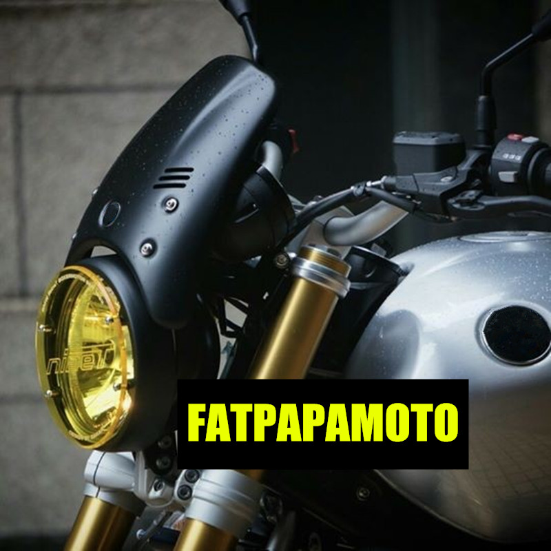 Phare moto protection de LED pour BMW R neuf T brouillette