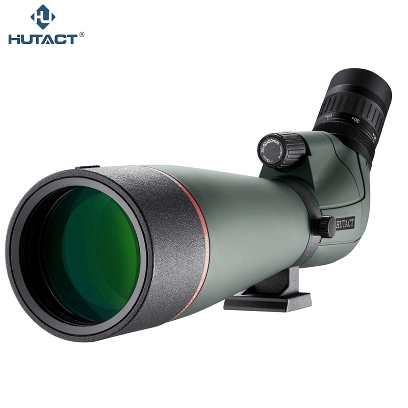 20x-60x 80mm Spotting Scope Caccia Telescopio Impermeabile Professionale Ottica con il Treppiedi PhoneAdapter Birdwatching Safari HUTACT