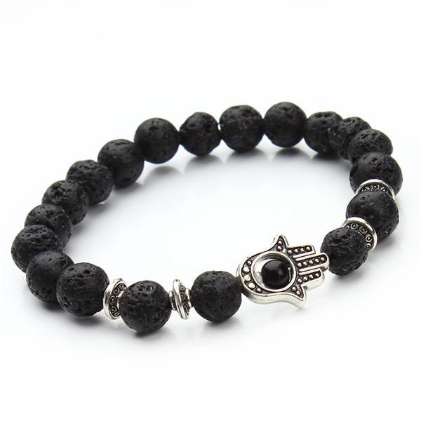 1-pcs-Nature-8mm-Black-Lava-Energy-Stone-Beads-Bracelet-Gold-Hamsa-Hand-Charm-Bracelet-Yoga (5)