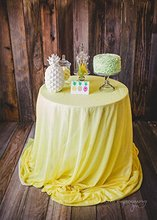 yellow sequin tablecloth 72inch sequin table overlay 180cm round sequin table cover for wedding table decoration