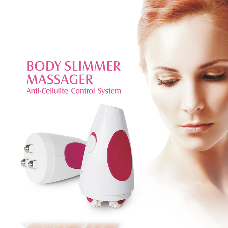 Brand New 3D body neck massager electric vibration facial massage roller Face-lift slimming massage ball easy to use new arrival fashion red electric face lift tool roller massager electronic facial slimming massage facial beauty