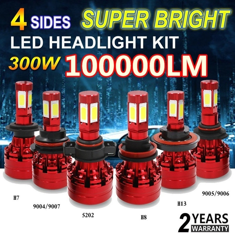 High quality super bright H4 H7 H11 H1 9005 9006 COB Car LED Headlight Bulbs Hi-Lo Beam 120W 6500K Auto Headlamp Fog Light Bulb free shipping one kit super bright 6000lm car headlight hb3 9005 60w cob led auto front fog bulb automobile headlamp 6000k
