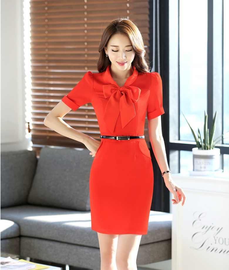 c7c7a0eb78f ... Летние модные строгие женские платья короткий рукав женские офисные  работа платье ПР Стиль тонкий женский темно ...