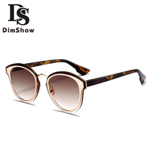 Dimshow Summer New Sunglasses Women Retro Coating Mirror Sunglasses Famous D Brand Designer Classic Shades For Female UV400