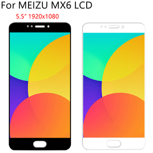 """Image 3 - 5,5 """"Оригинальный ЖК + рамка для MEIZU MX6 ЖК дисплей кодирующий преобразователь сенсорного экрана в сборе запасная часть 100% Протестировано без битых пикселей"""