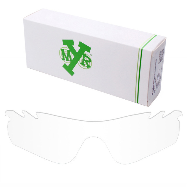 802f5d573ad88 MRY Replacement Lenses for Oakley RadarLock Path Vented Sunglasses HD Clear