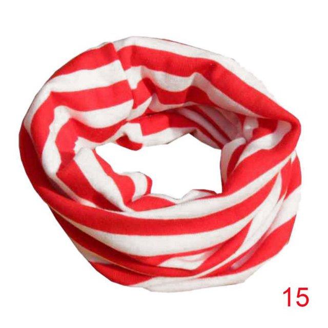 18 Цвета теплый шарф младенца дети ребенок хлопок шарф Обувь для мальчиков Обувь для девочек Чистый цвет уплотнительное кольцо шарф детей шеи Шарфы для женщин