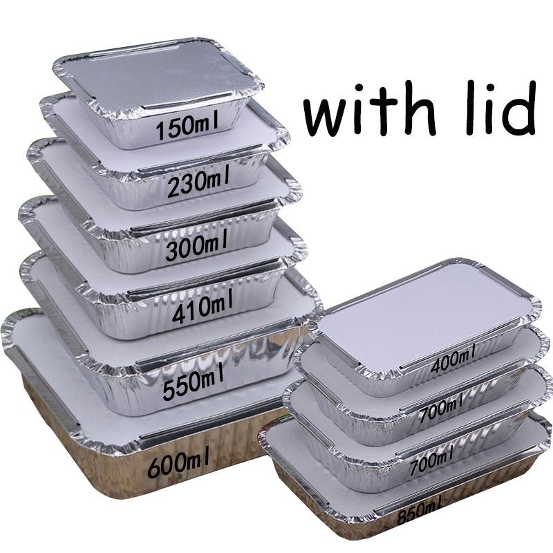 одноразовые алюминиевые кастрюли