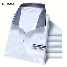2016 neue Männer Marke Polo-Shirt Mode Atmungsaktiver Baumwolle Solide Kurzarm Camisa Männlichen Polos Homme Mit Größe M-XXXL