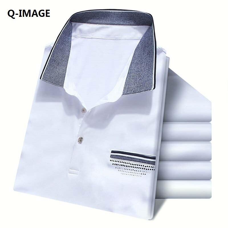 360a581d66748 2016 Nuevos Hombres de la Camisa de Polo de la Marca de Moda Transpirable  de Algodón Sólido de Manga Corta Camisa Hombre Polos Homme Con Tamaño M-XXXL
